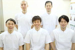 豊洲カイロスタッフ5人
