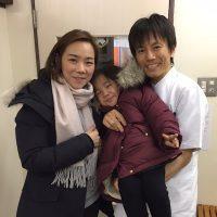 江東区豊洲にお住まいの子育て中の主婦、富山榮惠さん
