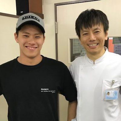 江東区豊洲にお住まいの高校生で競泳選手の浅野健くん