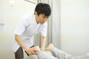 ハイヒール足首の痛み豊洲
